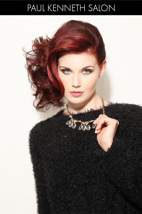 Red Hair Color for Winter