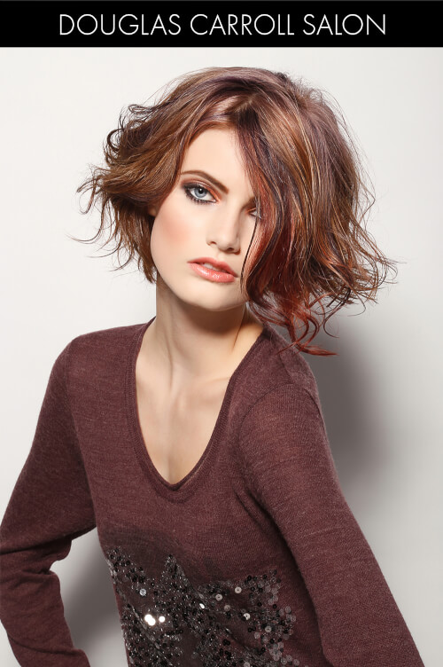 Beautiful Brown Hair Color for Winter