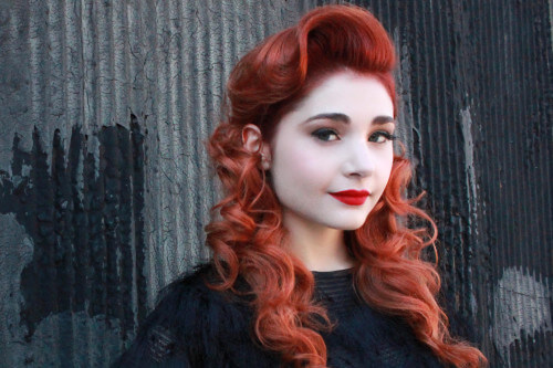 Hairstyle of the Month - Retro Red Hairstyle