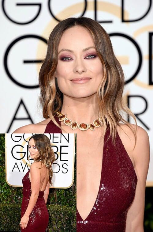 Olivia Wilde - Best Hairstyles of the 2016 Golden Globe Awards