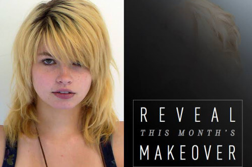 January Hair Makeover - Brassy to Blonde