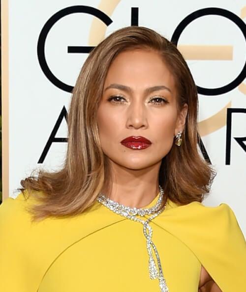 Jennifer Lopez - Best Hairstyles of the 2016 Golden Globe Awards