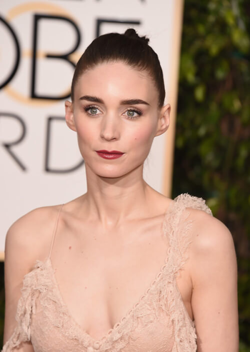Rooney Mara - Best Hairstyles of the 2016 Golden Globe Awards