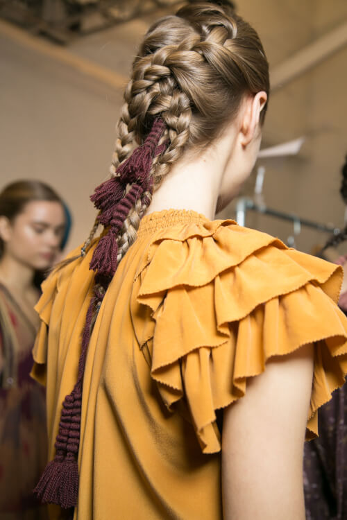 Ulla Johnson - NYFW Hairstyles