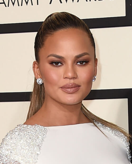 Chrissy Tiegen - Best Grammy Awards Hair 2016
