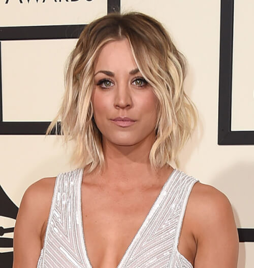 Kaley Cuoco - Best Hairstyles of the 2016 Grammy Awards