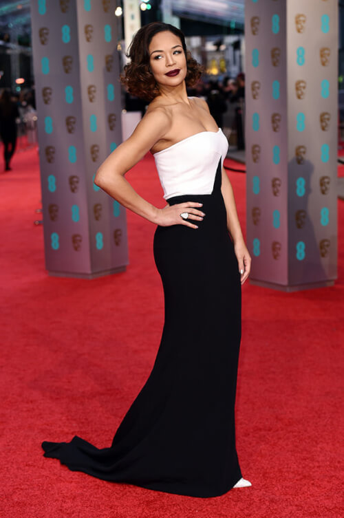 Sarah-Jane Crawford - Best Hairstyles of the 2016 BAFTAs