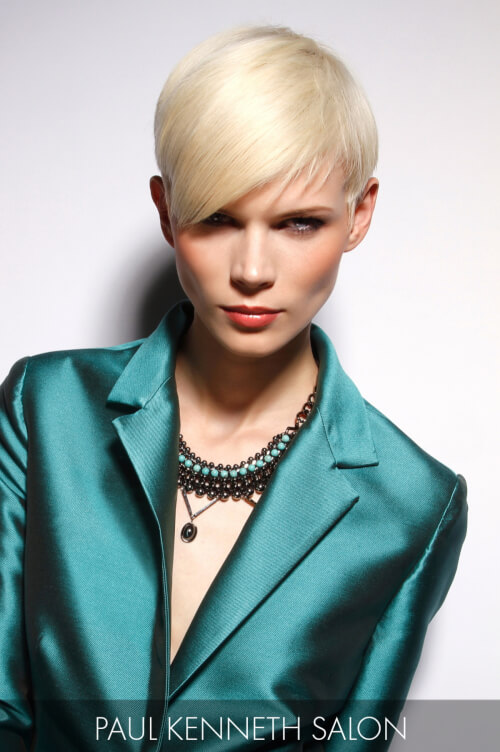 Platinum Blonde Hair Color for Fall