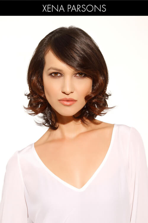 Sleek Sexy Bob with Side Bangs