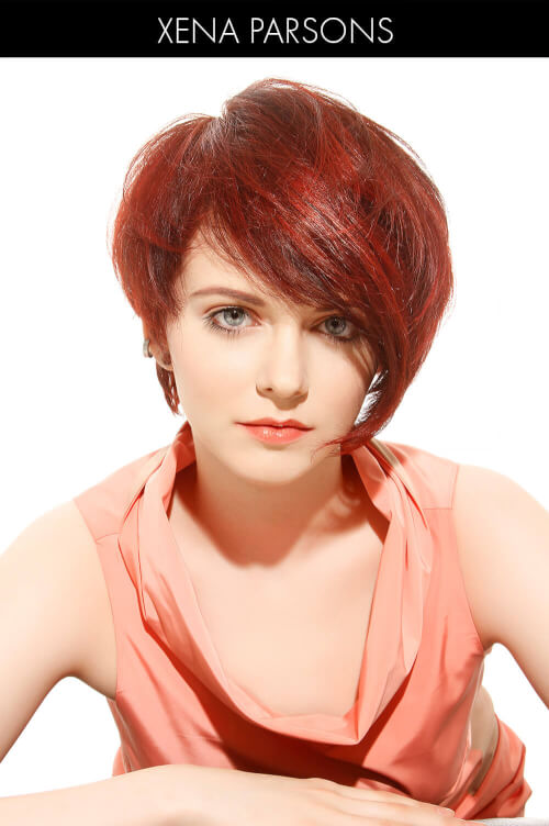 Striking Bright Red Hair Color