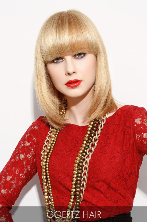 Golden Blonde Hair Color for Fall