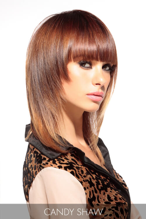 Warm Reddish Brown Hair Color for Fall