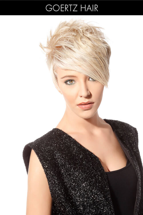 Sleek Pixie with Razor Cut Pieces