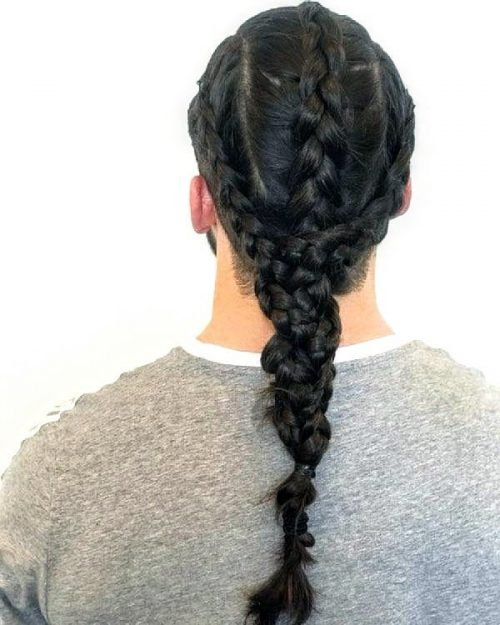 27 Braids for Men - The \'Man Braid\' in 2019