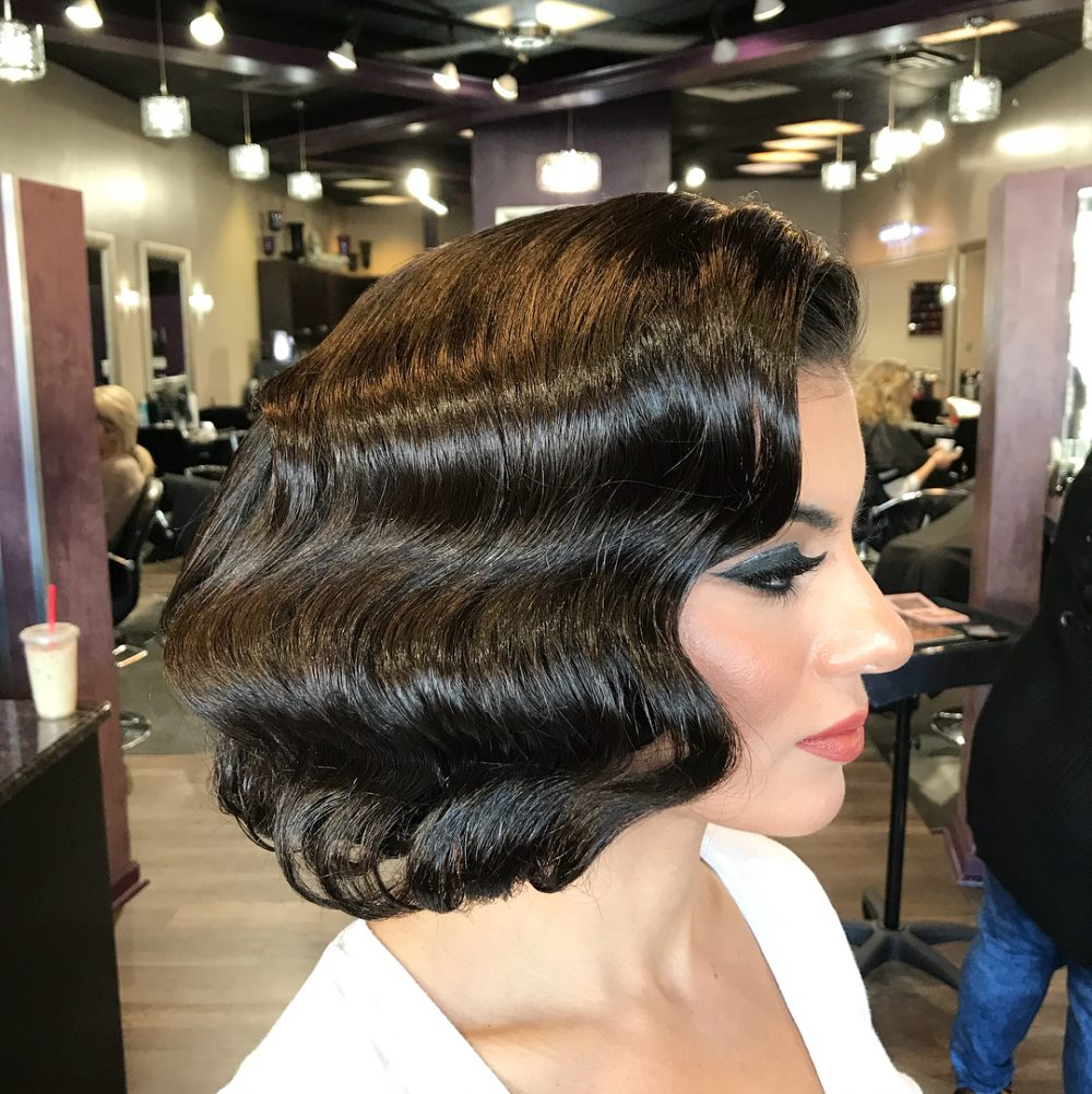 40s Flapper Chic hairstyle
