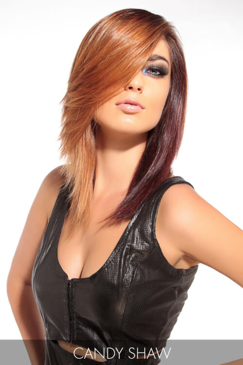 Two Tone Hair Color for Fall