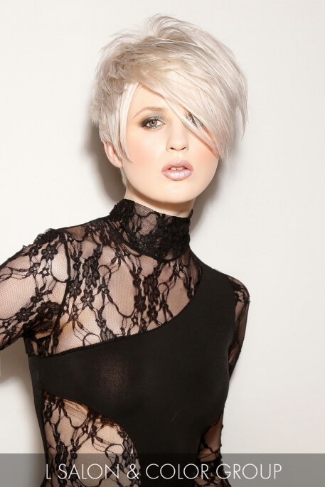 Icy Blonde Winter Hair Color