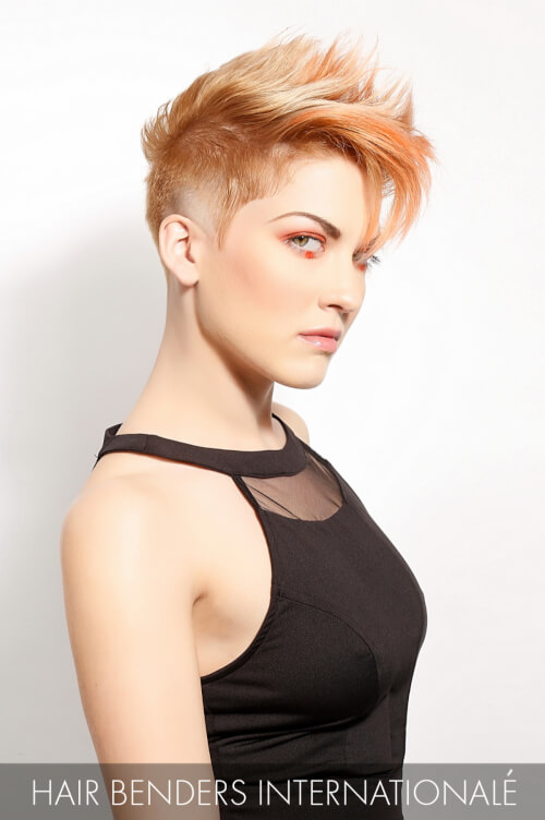 Apricot Hair Color for Fall