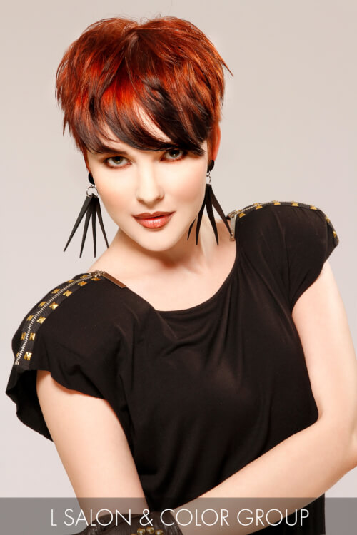 Long Pixie Hairstyle