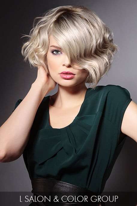 Modern Flapper Bob Hairstyle for Winter