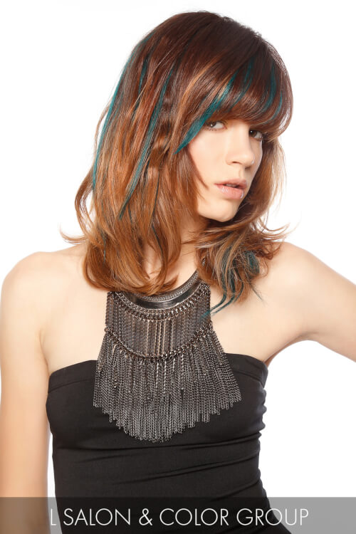 Mid length Haircut for Spring with Texture