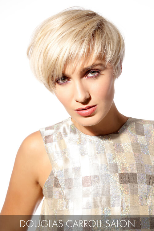Short Hairstyle with Long Layers