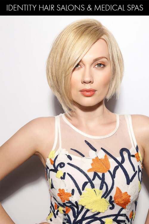 Cool Blonde Bob for Summer
