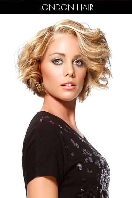 Hairstyles Short Hair short bob hairstyles for thick hair Beachy Blonde Short Layered Hairstyle