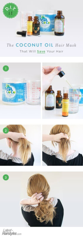 DIY It: The Coconut Oil Hair Mask That Will Change Your Hair
