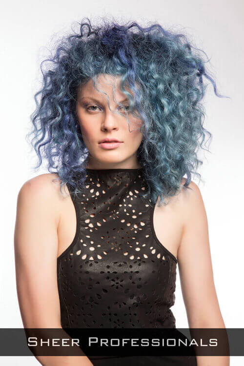 Curly Party Hairstyle