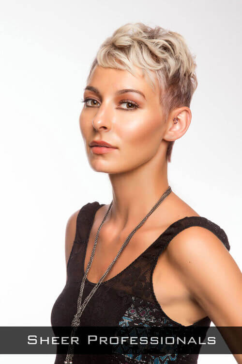 Cute Pixie Haircut with Texture