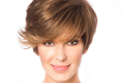 Cute Short Hairstyle with Texture