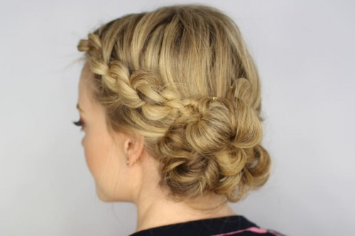 Easiest-Knotted-Updo-Tutorial-=-YOUTUBE