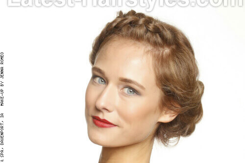 24 completely easy long hair updos for you to try elegant dutch braid hairstyle for long hair urmus Gallery
