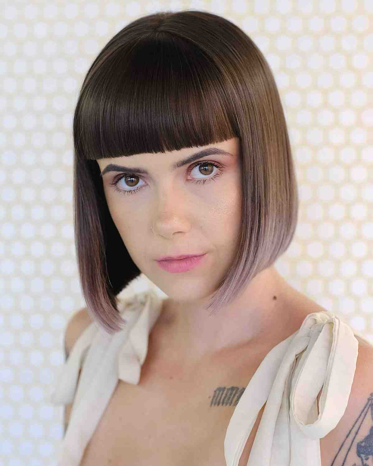 Super 30 Completely Fashionable Bob Hairstyles With Bangs Hairstyles For Women Draintrainus