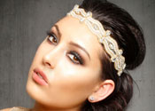 Flapper Inspired Look with Headband