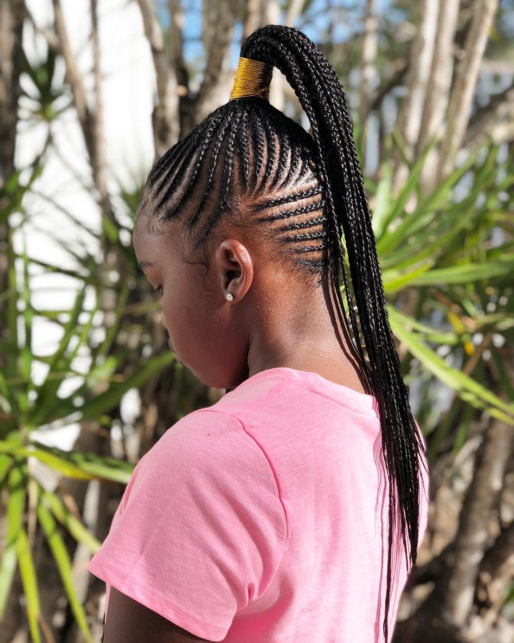 17 Best Ghana Weaving Styles Braids Hairstyles For 2020