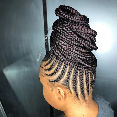 17 Greatest Ghana Braids And Hairdos For 2019