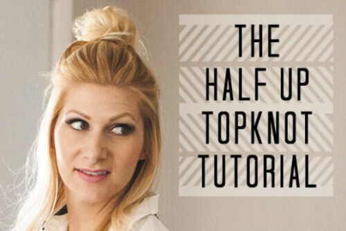 HalfUpTopknot