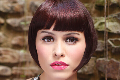 Hairstyle of the Month - Brunette Bob