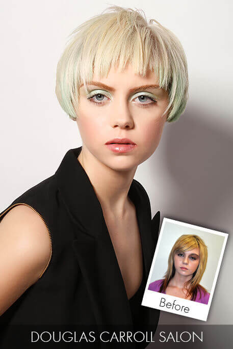 Pastel Blonde Hair Makeover