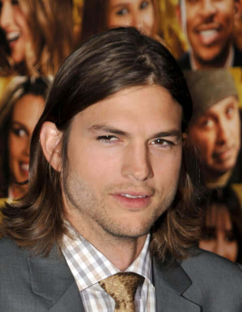 Guys Long Hairstyles long hairstyles for the older man Long Hairstyle For Men With Imperfect Part