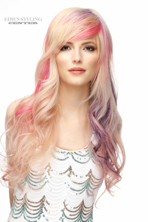 long-hairstyle-with-side-swept-bangs-and-pastel-highlights