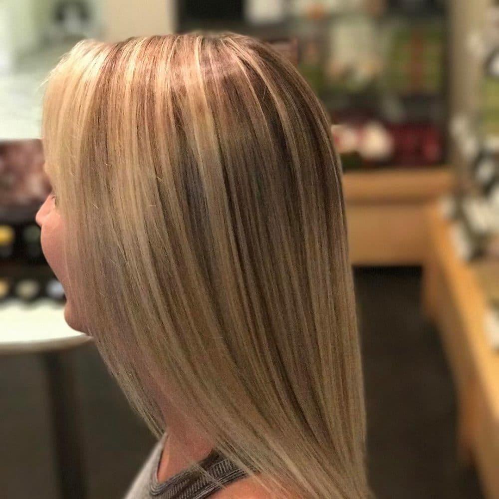 Luminous Blonde hairstyle