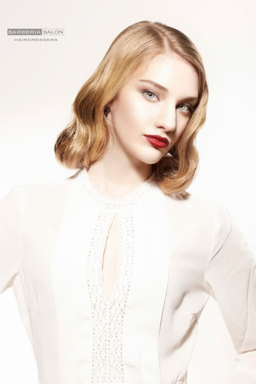 medium-bob-hairstyle-with-vintage-waves