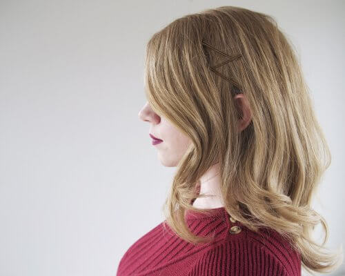 Hairstyles For Short Hair Using Bobby Pins: 7 Incredibly Chic Ways To Wear Bobby Pins: Tutorial