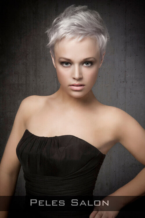 Pixie Hairstyle For Fine Hair