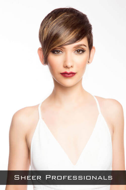 Pixie Hairstyle For Long Face Style By Katie Kacere Makeup Kristian Bailey Sheer Professionals Wooster Oh