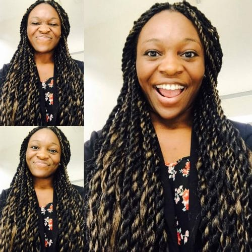 Senegalese Twists hairstyle