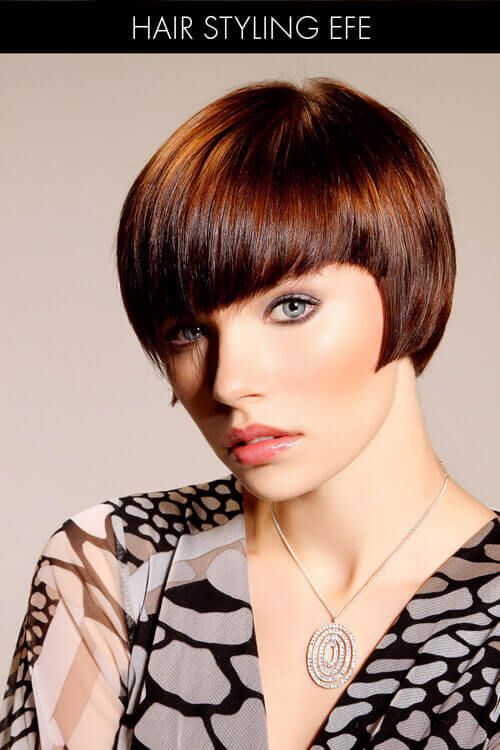 Short Bob with Convex Layers